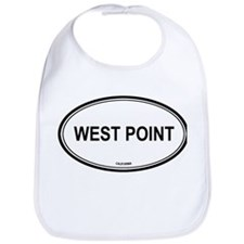 West Point oval Bib