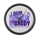 I Wear Periwinkle 6.4 Esophageal Cancer Large Wall