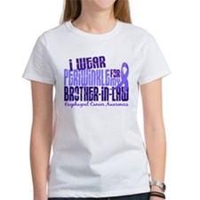 I Wear Periwinkle 6.4 Esophageal Cancer Tee