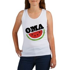 Oma Gift Watermelon Women's Tank Top