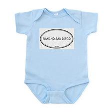 Rancho San Diego oval Infant Creeper