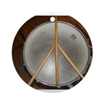 DRUM PEACE Ornament (Round)