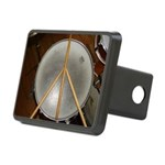 DRUM PEACE Rectangular Hitch Cover