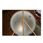 DRUM PEACE Postcards (Package of 8)