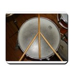 DRUM PEACE Mousepad