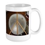 DRUM PEACE Large Mug