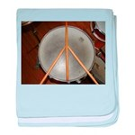 DRUM PEACE baby blanket