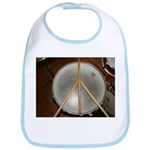 DRUM PEACE Bib