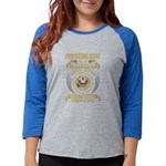 DRUM PEACE Women's Raglan Hoodie