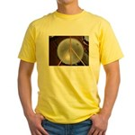 DRUM PEACE Yellow T-Shirt
