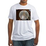 DRUM PEACE Fitted T-Shirt