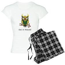 Owl of Mischief pajamas