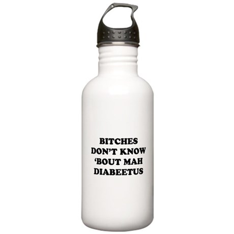 Diabeetus Stainless Water Bottle 1 Liter