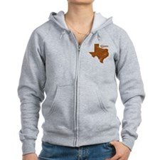 Weimar, Texas (Search Any City!) Zip Hoodie