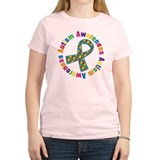 Autism Awareness Ribbon Tee-Shirt