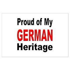 Proud German Heritage Posters