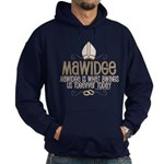 Princess Bride Mawidge Wedding Hoodie
