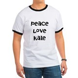 Peace Love Kale T