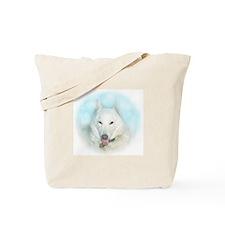 """""""Snow Dog"""" Tote Bag"""