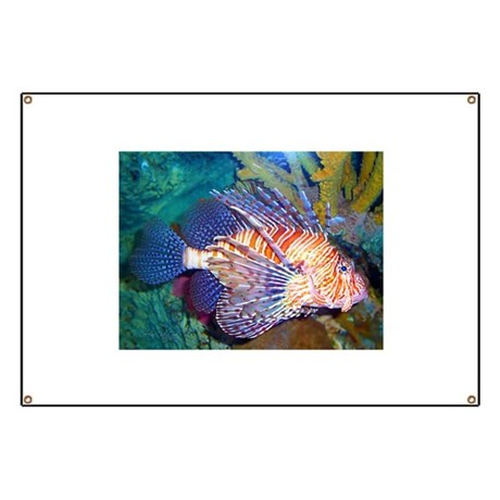 Lion or Turkey Fish Banner