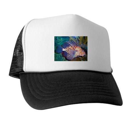 Lion or Turkey Fish Trucker Hat