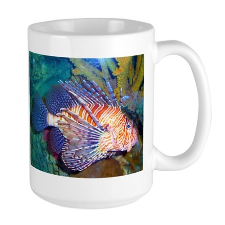 Lion or Turkey Fish Large Mug