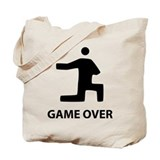Game Over Proposal Tote Bag
