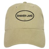 Shaver Lake oval Baseball Cap