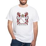 Bronicowski Coat of Arms White T-Shirt