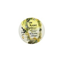 Native Proverbs Mini Button