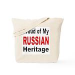 Proud Russian Heritage Tote Bag