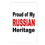 Proud Russian Heritage Postcards (Package of 8)