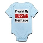 Proud Russian Heritage Infant Creeper