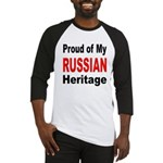 Proud Russian Heritage Baseball Jersey