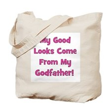 Good Looks from Godfather - P Tote Bag