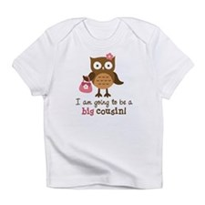 Big Cousin to be - Mod Owl Infant T-Shirt