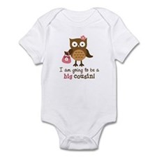 Big Cousin to be - Mod Owl Infant Bodysuit