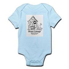 Black Logo Infant Bodysuit