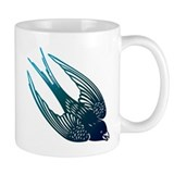 Blue Swallow Mug