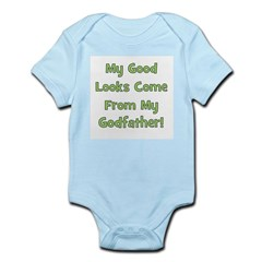 Good Looks from Godfather - G Infant Creeper