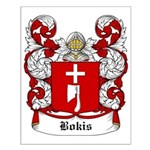 Bokis Coat of Arms Small Poster