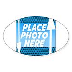 Personalize Design Sticker (Oval 50 pk)