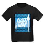 Personalize Design Kids Dark T-Shirt