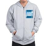 Personalize Design Zip Hoodie