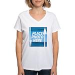 Personalize Design Women's V-Neck T-Shirt