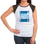 Personalize Design Women's Cap Sleeve T-Shirt