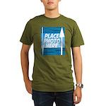 Personalize Design Organic Men's T-Shirt (dark)
