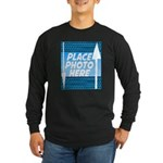 Personalize Design Long Sleeve Dark T-Shirt