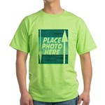 Personalize Design Green T-Shirt