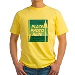 Personalize Design Yellow T-Shirt
